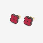 Materia Rica Materia Rica Raspberry Forget-me-Not Earrings