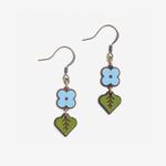 Materia Rica Materia Rica Blue Bud Earrings