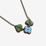 Materia Rica Materia Rica Blue Wild Bunch Necklace