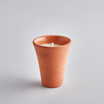 St Eval St Eval Classic Terracotta Small Pot - Bay and Rosemary Candle