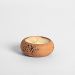 St. Eval St Eval Terracotta Tealight Holder - Thyme and Mint