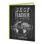Brainbox Candy Best Teacher in the World Card