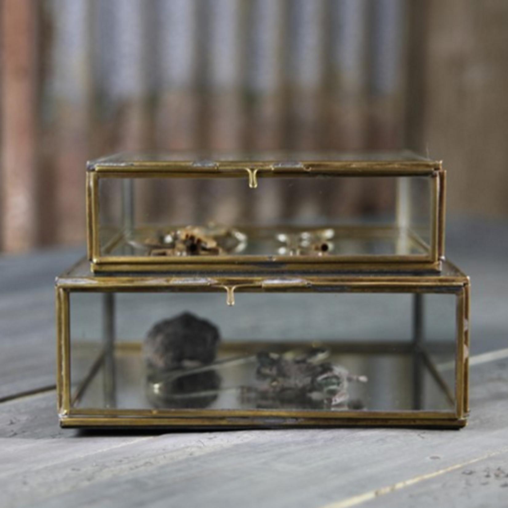 Nkuku Bequai Brass Box Small