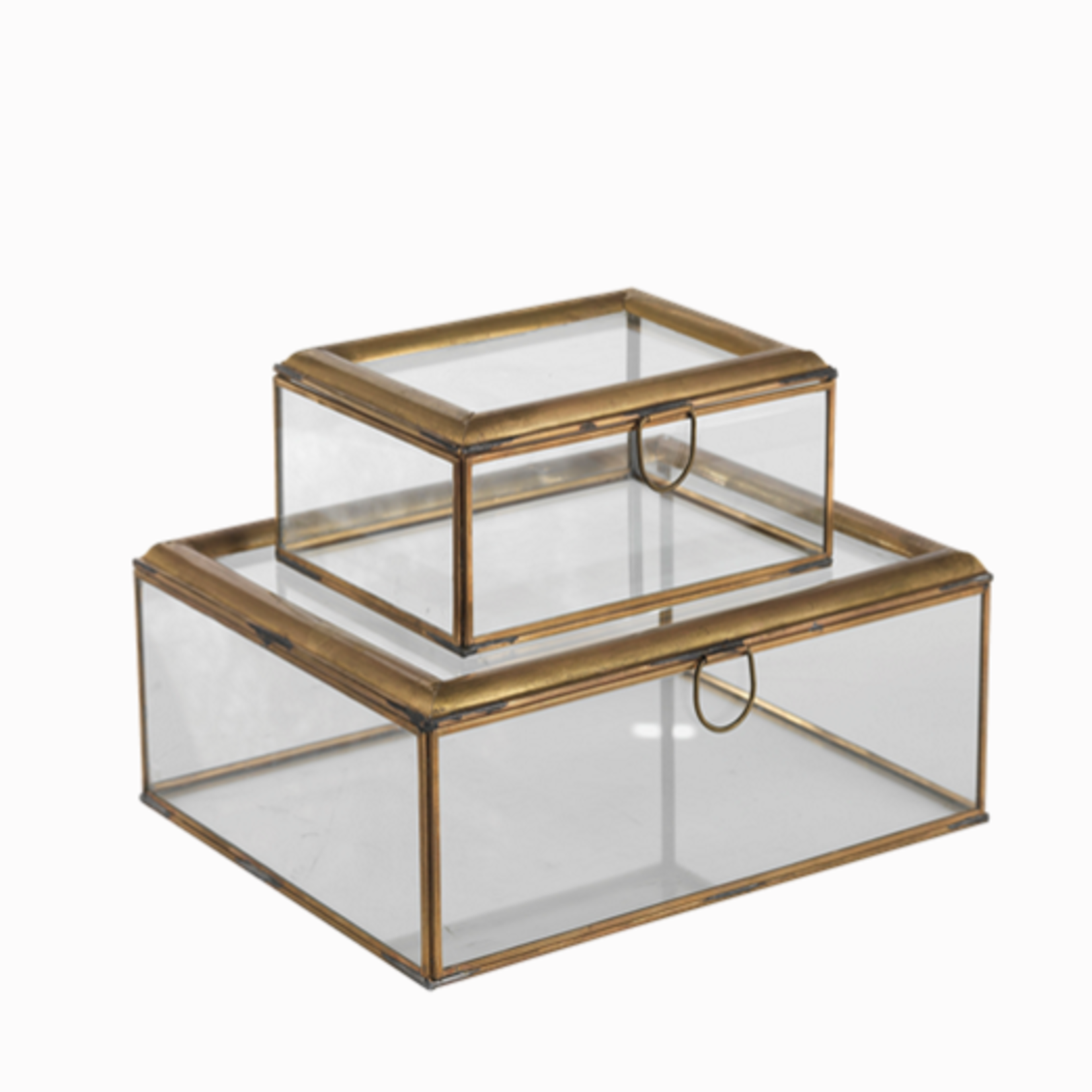 Nkuku Amara Brass Box Large