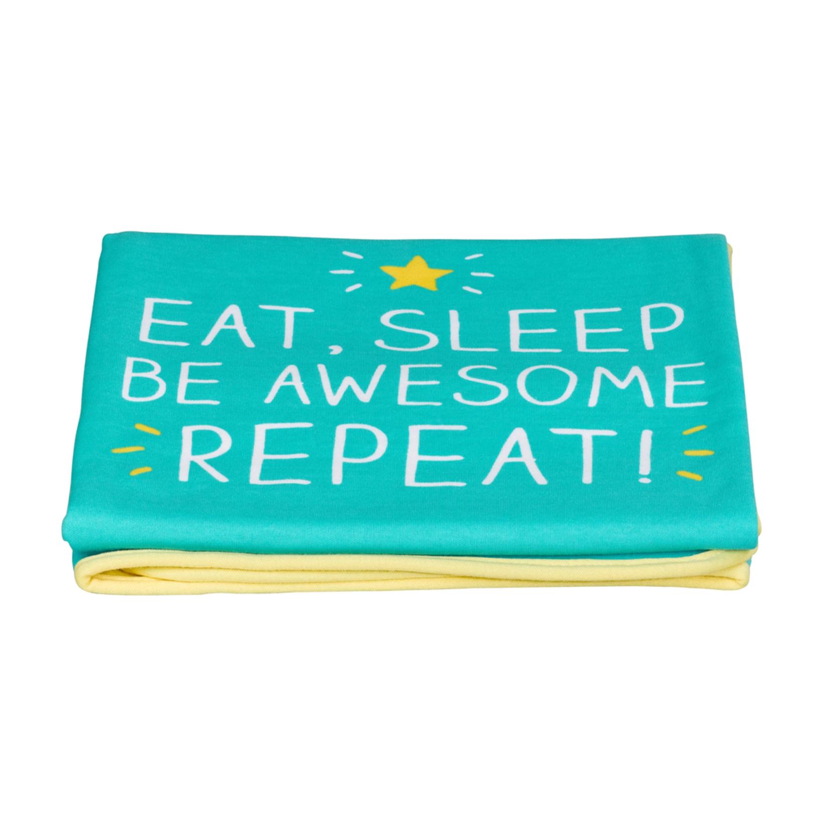 Happy Jackson Eat Sleep Baby Blanket