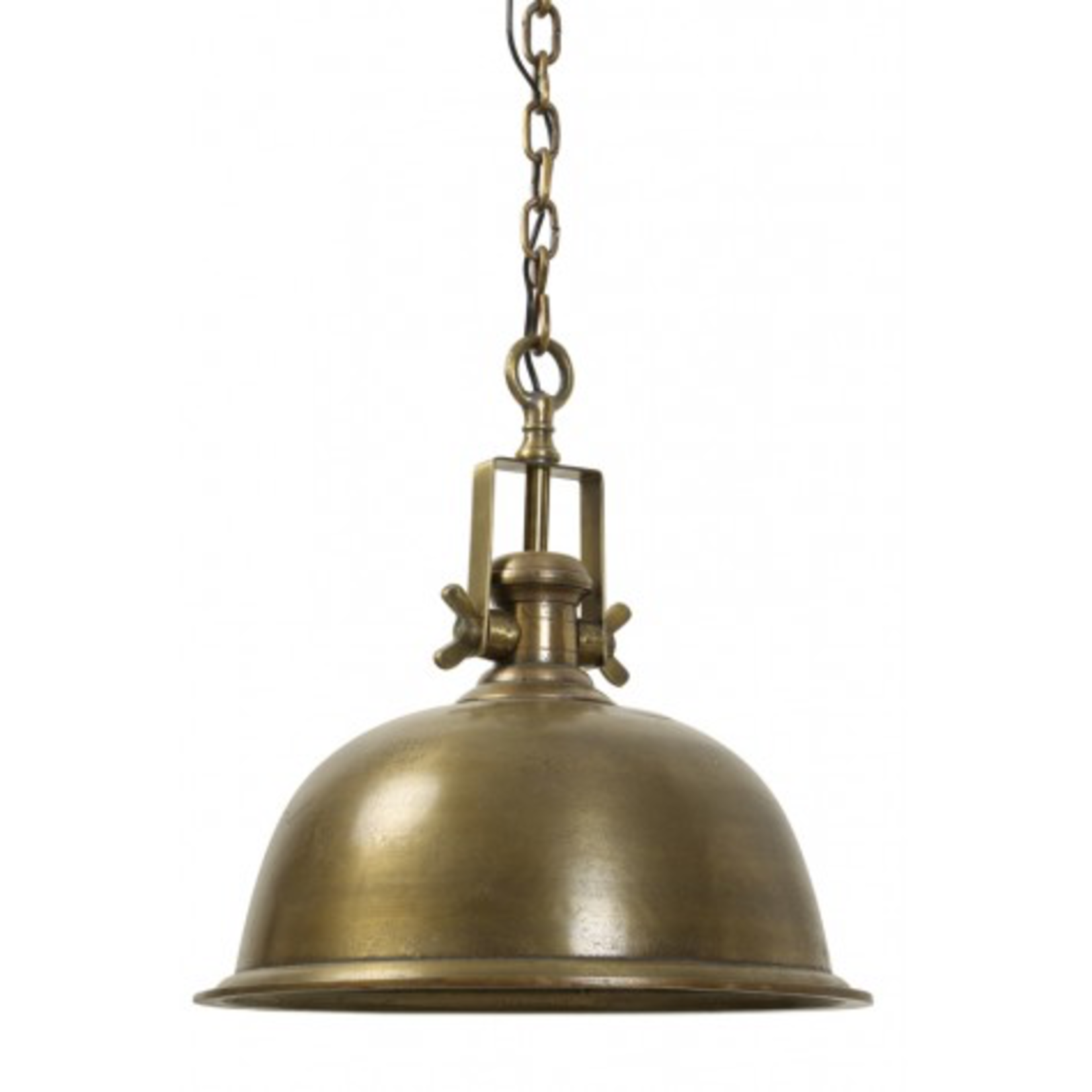 Light & Living Hanging lamp 50 cm KENNEDY large raw antique brass finish