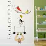 Chispum Growth Chart Circus 40 x 120cm