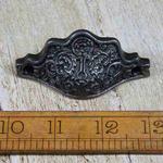 IRON RANGE Cup Handle 'Bureau' Ornate Antique Iron