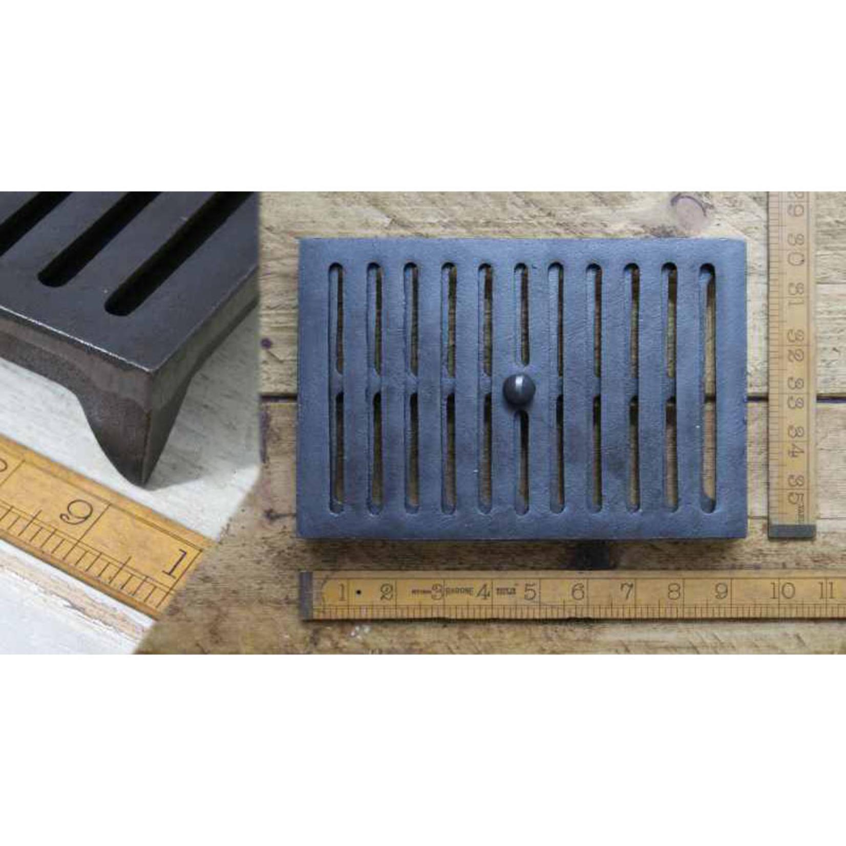 IRON RANGE Air Vent Adjustable Sliding Antique Iron air brick