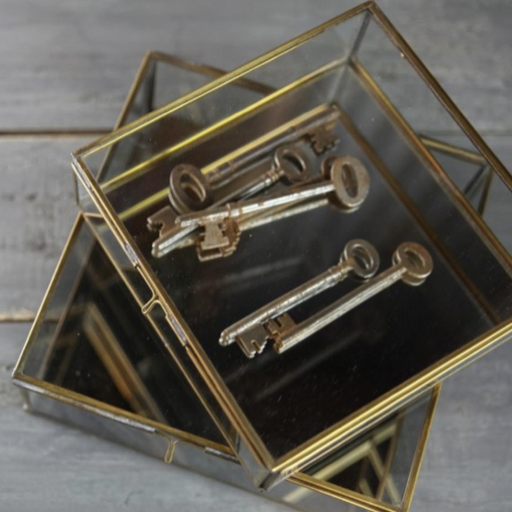 Nkuku Bequai Brass Box Large