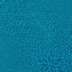 Decopatch Decoupage PAPER 651 blue petal print