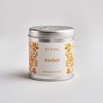 St. Eval St Eval Folk Tin Amber Candle