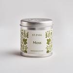 St. Eval St Eval Tin Folk Moss Candle
