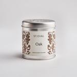 St. Eval St Eval Tin Folk Oak Candle