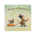 Jellycat Jellycat I Know A Monkey Book