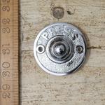 IRON RANGE Press Door Bell Push ' Press ' Chrome 63mm Dia