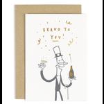 OLD ENGLISH CO. Gentleman Bravo To You Card