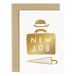 OLD ENGLISH CO. New Job Suitcase Card