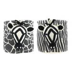 Fiona Walker Fiona Walker Storage Bag - Zebra Mixed Prints