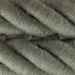 CCIT Per Metre - Thick Twisted Natural linen fabric electrical cable 3 core Flex: 3x0.75 Diameter 30mm.