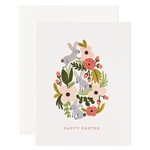 Rifle Rifle Floral Easter Egg Card