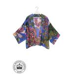 ONE HUNDRED STARS KEW Kimono Magnolia Purple