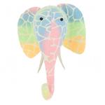 Fiona Walker Fiona Walker Semi Ombre Pastel Print Elephant