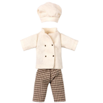 Maileg Maileg Chef Clothes for Dad Mouse