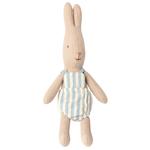 Maileg Maileg Rabbit with blue romper Micro