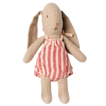 Maileg Maileg Bunny with pink stripy romper Micro