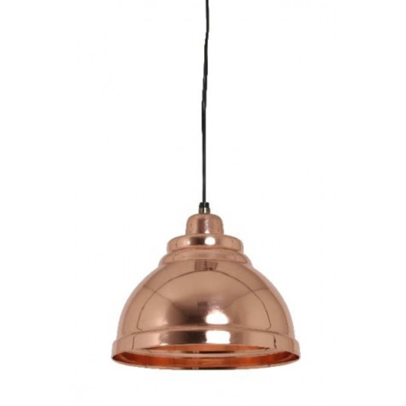 Light & Living DISCOUNTED 30% off Hanging lamp 22x14 cm YILL rose gold