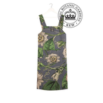 ONE HUNDRED STARS KEW Apron/Pinafore Passion Flower Grey