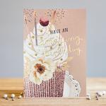 Louise Tiler Amazing Birthday Cupcake Card