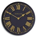 Newgate Coach House Clock Matte Petrol Blue