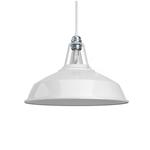CCIT Industrial Harbour Lampshade White  - E27 metal 38 cm diameter