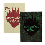 Half Moon Bay A5 Notebook - Harry Potter (Marauders Map)
