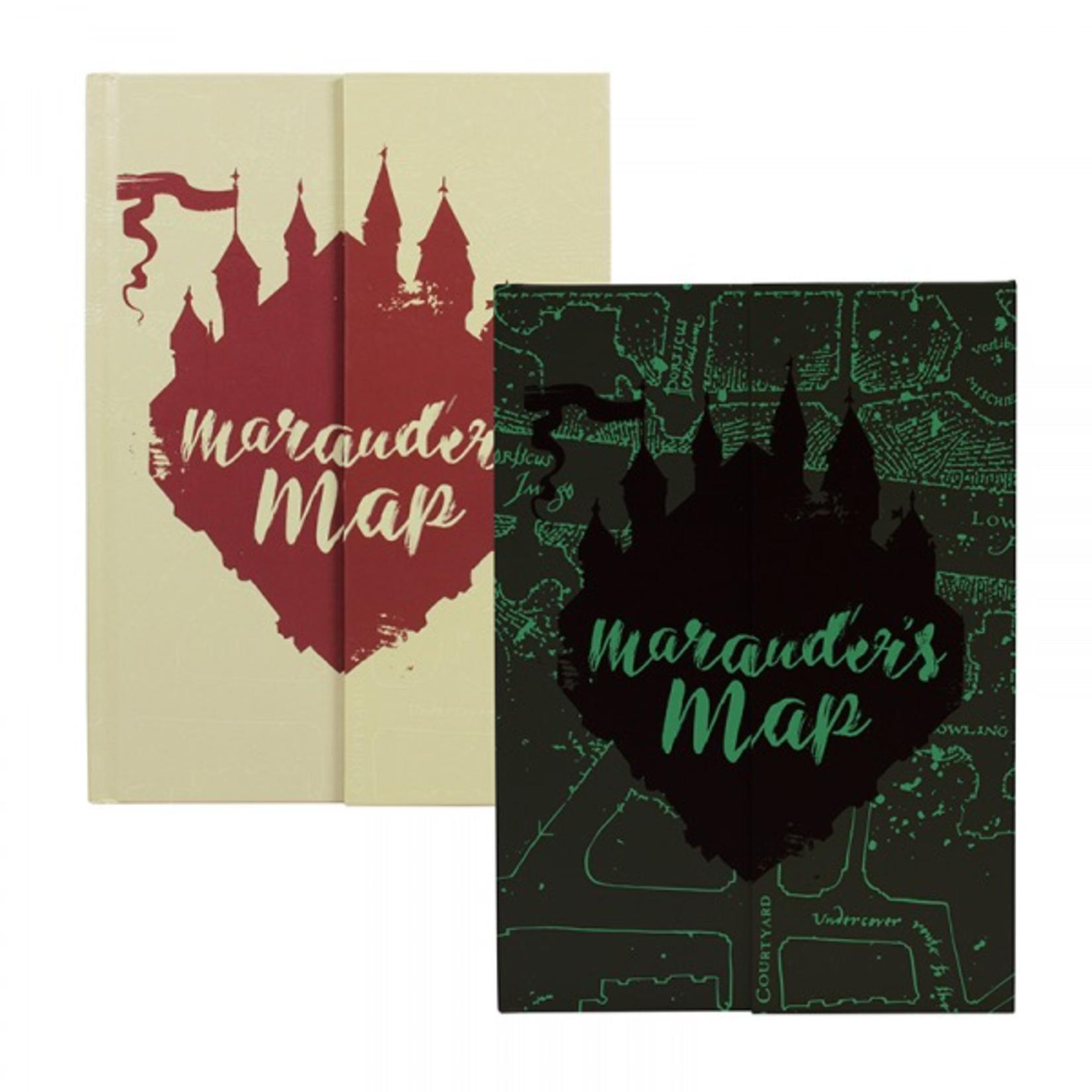 Half Moon Bay A5 Notebook - Harry Potter (Marauders Map)