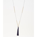 Mark Watson Navy Lucia Necklace