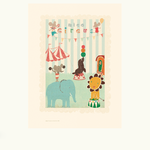 Maileg Maileg Circus Mouse and Friends Poster