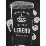 Brainbox Candy Raise a Glass to the Legend Card