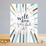 Louise Tiler Well Done Pencil Card