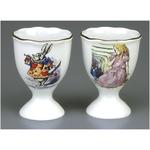 Reutter Porcelain Alice in Wonderland 2 Egg Cups