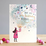 Louise Tiler Birthday Wishes Card