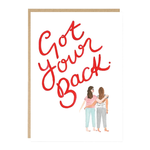 Jade Fisher Got Your Back Friends Card