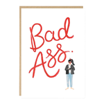 Jade Fisher Bad Ass Card