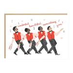 Jade Fisher Barber Shop Quartet Wonderful Card