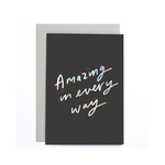 OLD ENGLISH CO. Amazing in Every Way Small Card