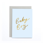 OLD ENGLISH CO. Baby Boy Small Card