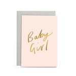 OLD ENGLISH CO. Baby Girl Small Card