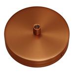 CCIT Brushed Copper metal Single ceiling rose